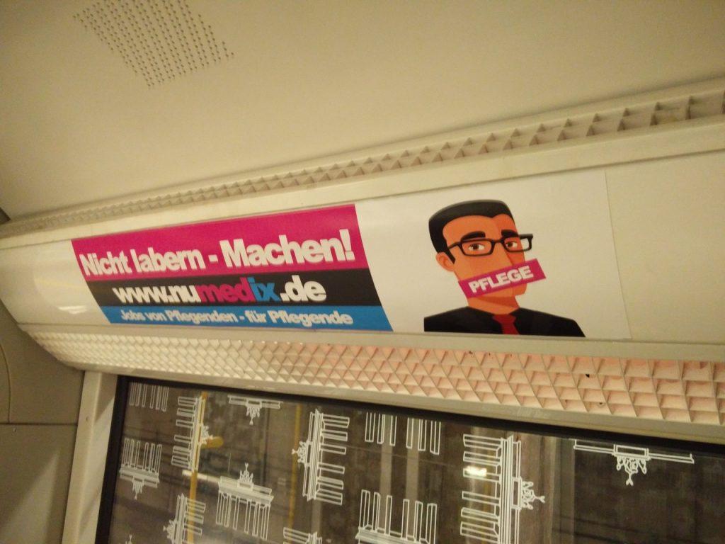 Berlin, Berlin – wir fahren U-Bahn in Berlin!