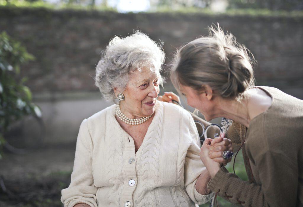 Auch Senioren sind Menschen: Behandle und pflege sie mit dem nötigen und verdienten Respekt